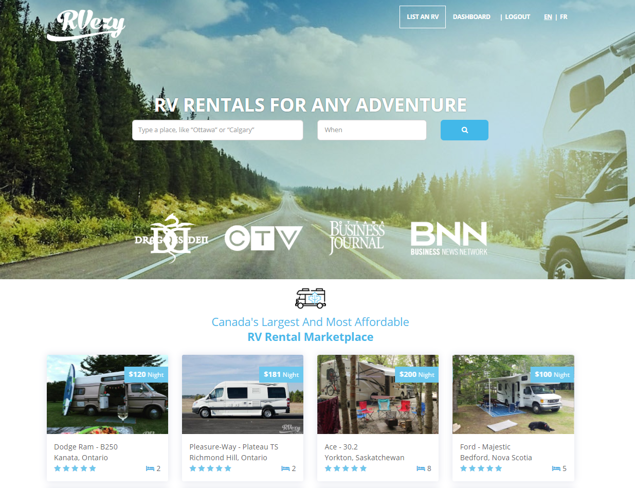 RVezy Homepage