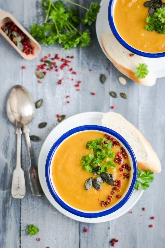 RVezy pumkin soup