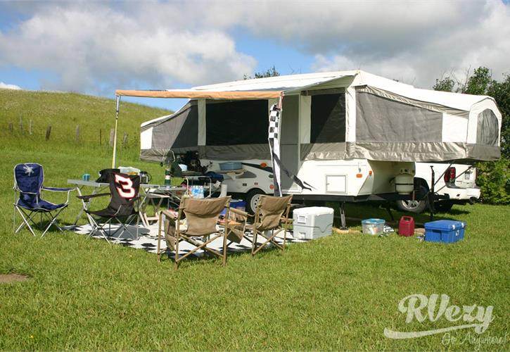 travel trailer setup checklist