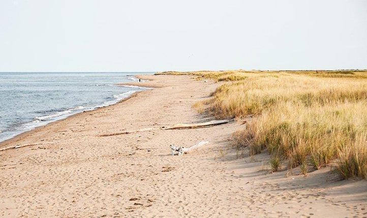 An image taken while camping in an RV at Parlee Beach Provincial Park in New Brunswick.