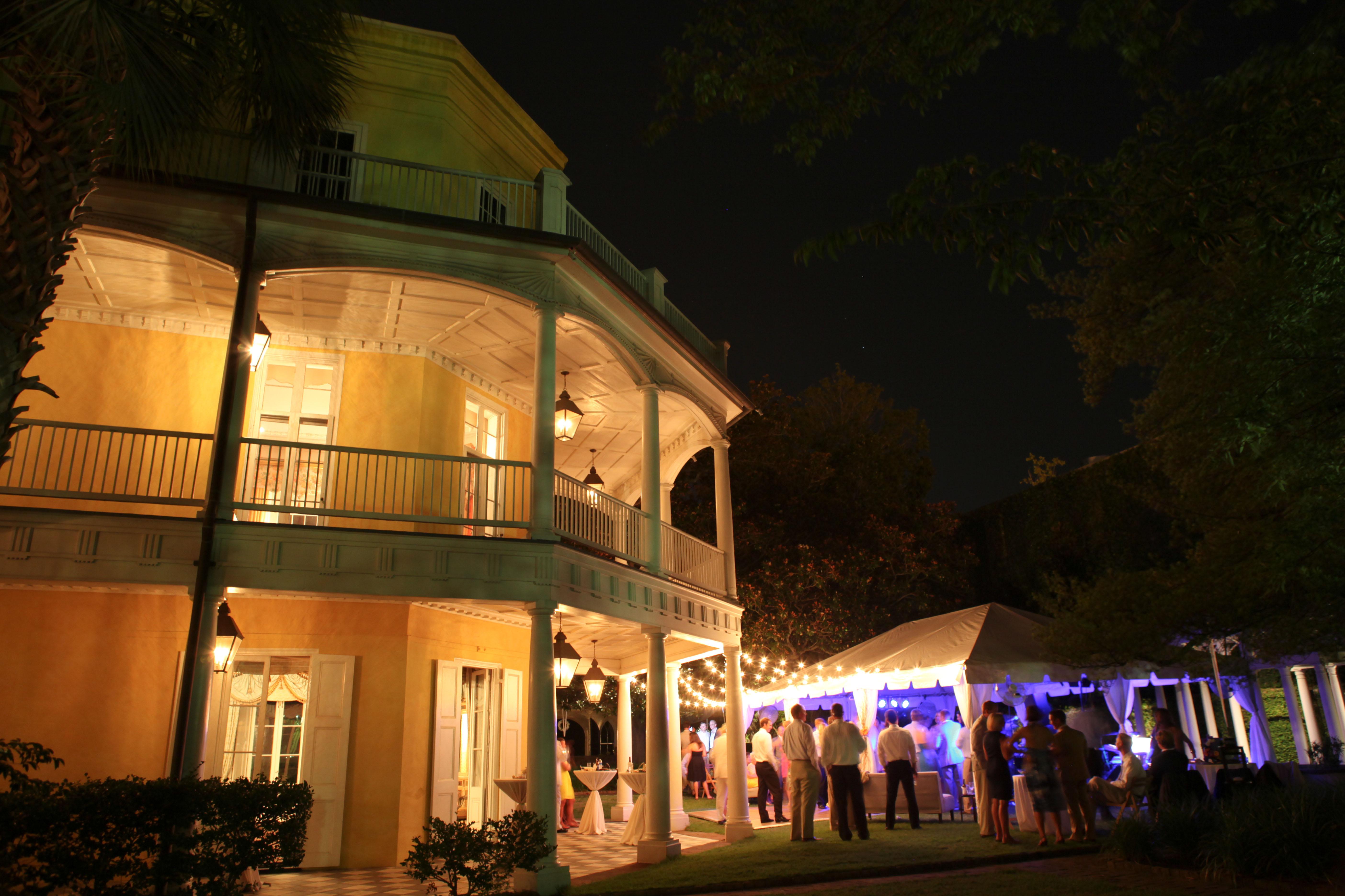 Charleston Uplighting By Av Connections