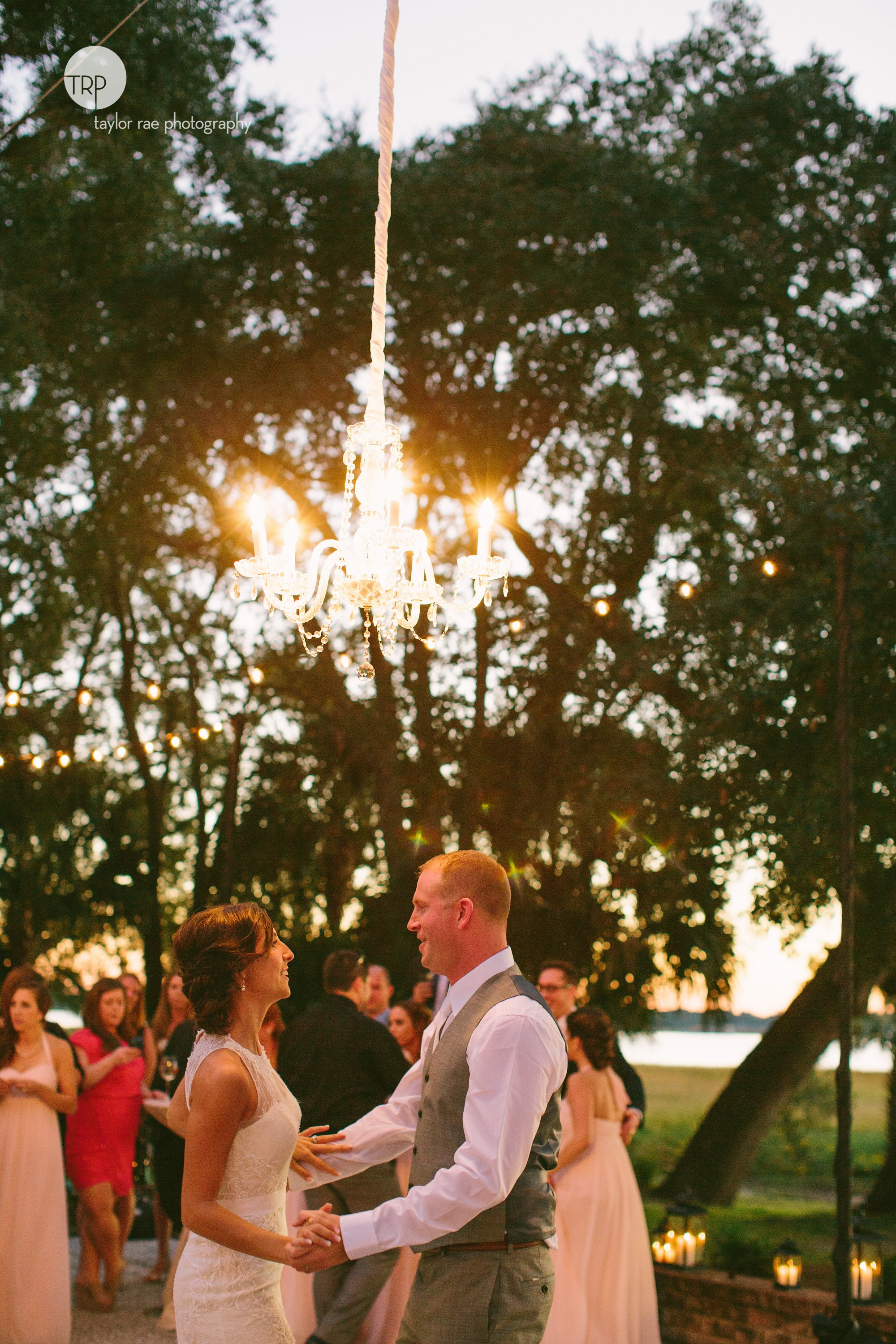 Chandelier rental magic by AV Connections: Lighting from nowhere to ...