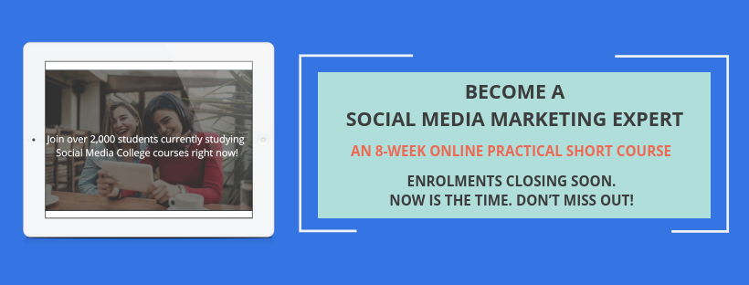 Become a social media marketing expert with Social Media College.