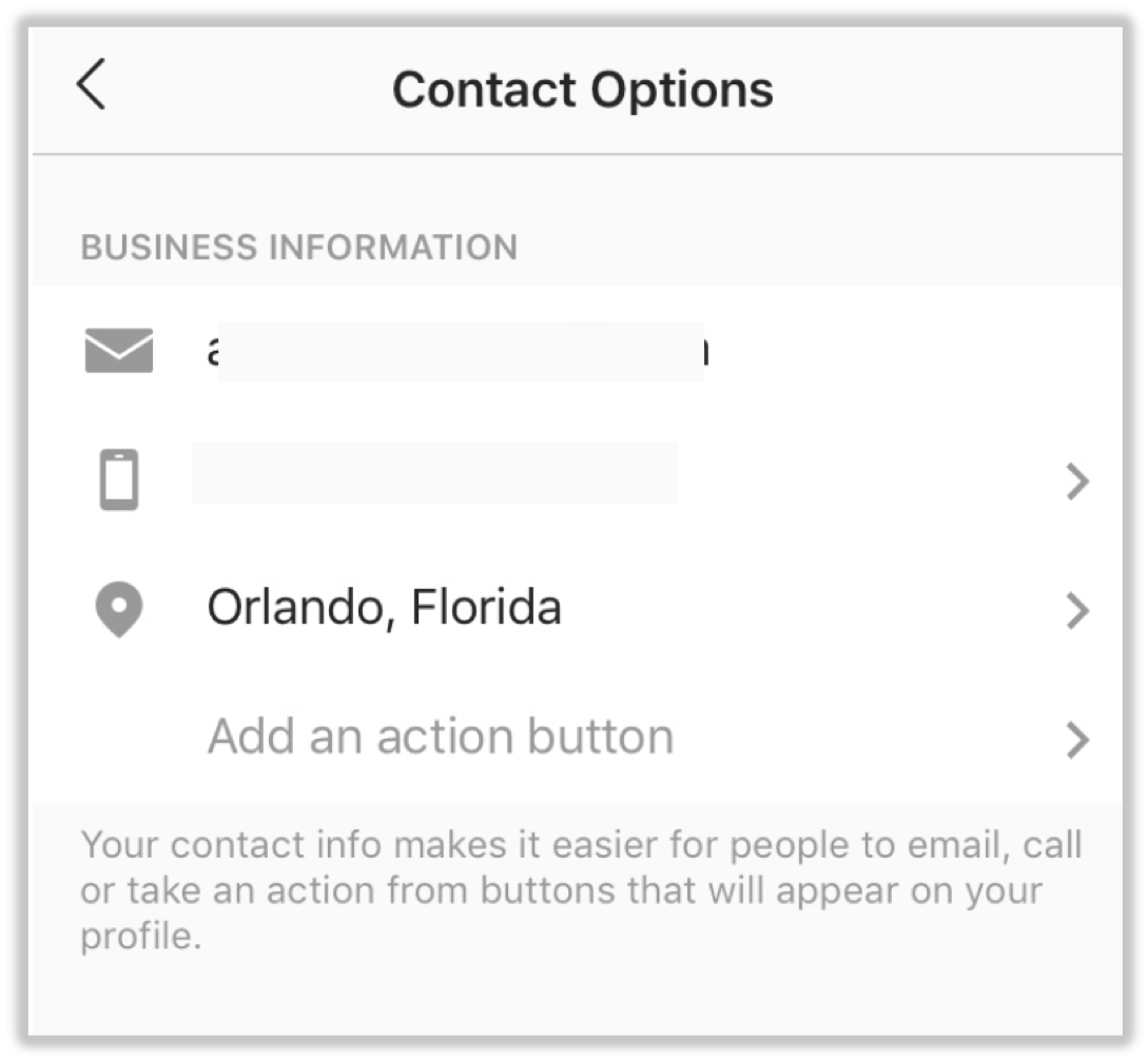 Contact Options