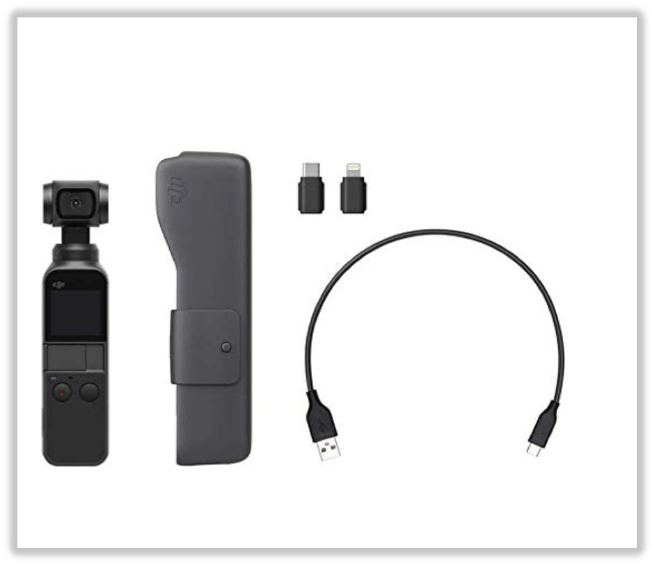The Best Pocket-Sized Camera: DJI Osmo Pocket  The DJI Osmo Pocket is a professional-grade camera that comes fun-sized.
