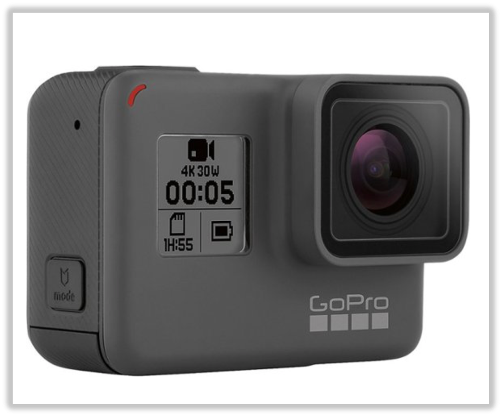 The Best In-Action Camera: GoPro HERO5 Black 4K Action Camera