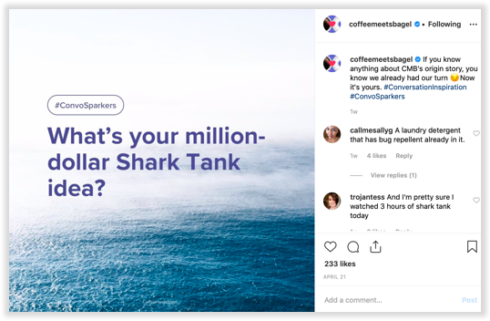 How to spark conversation on Instagram