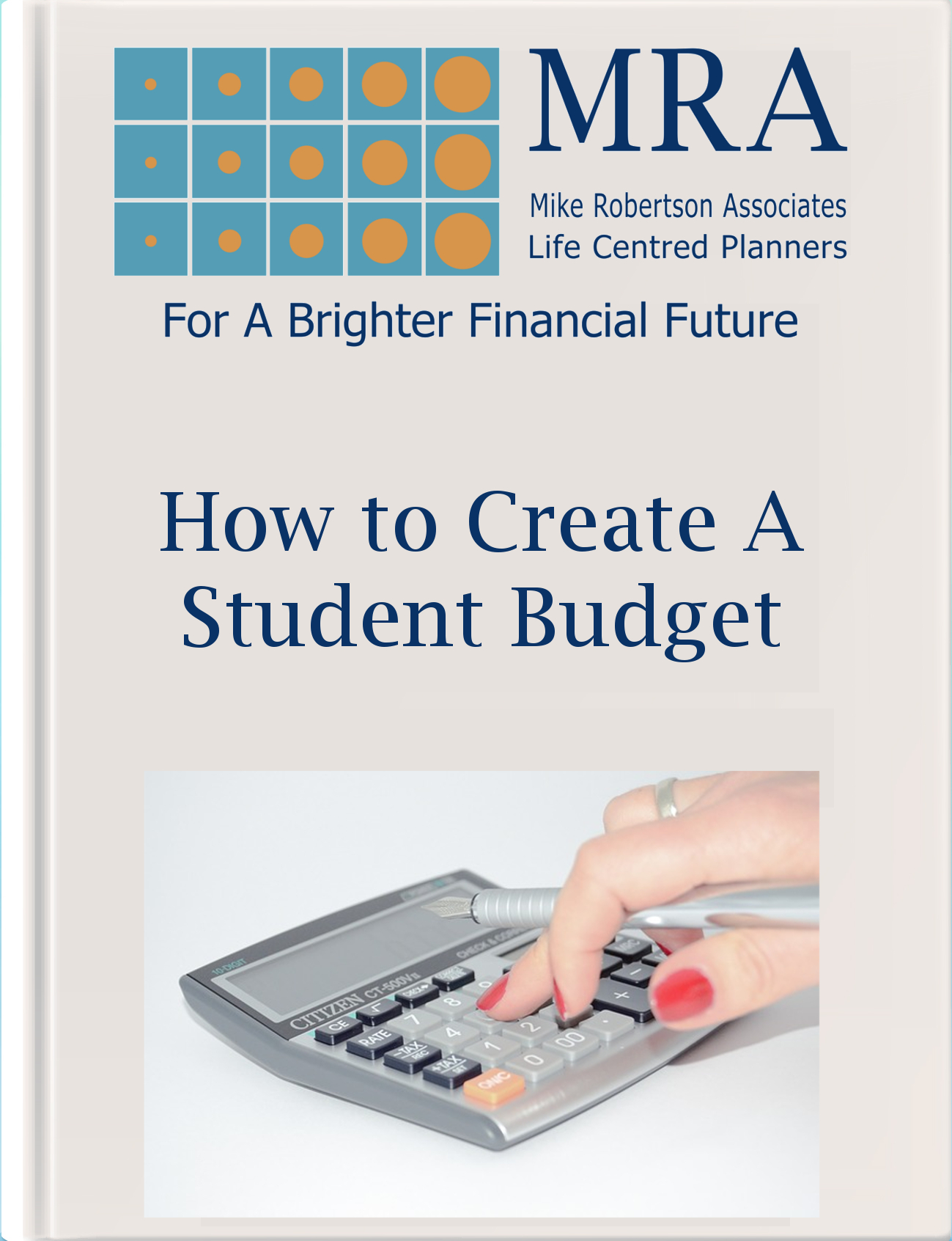 Download our Ebook for Creating a Student Budget Ebook