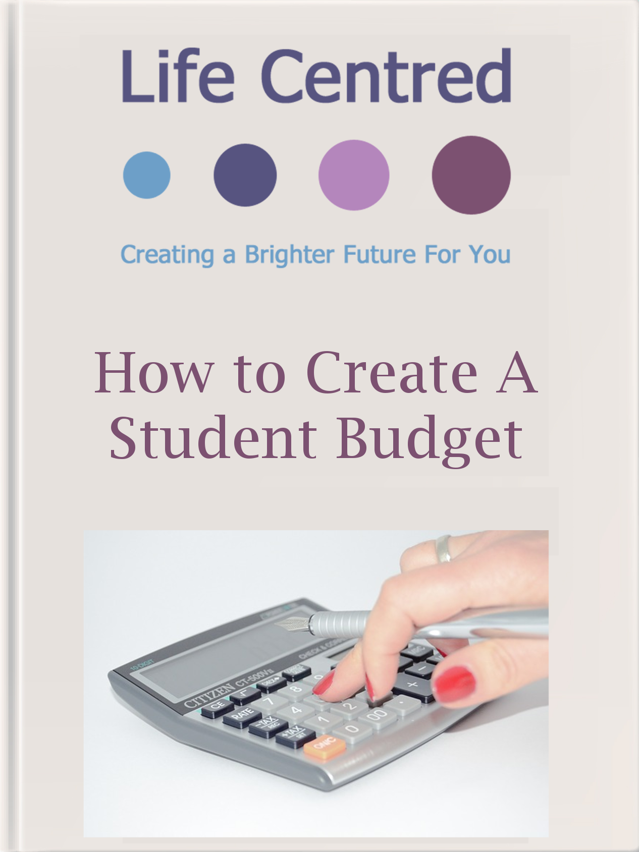 Download our Student Budget Ebook