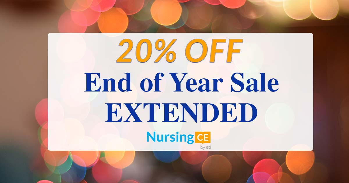 Extended end of year sale