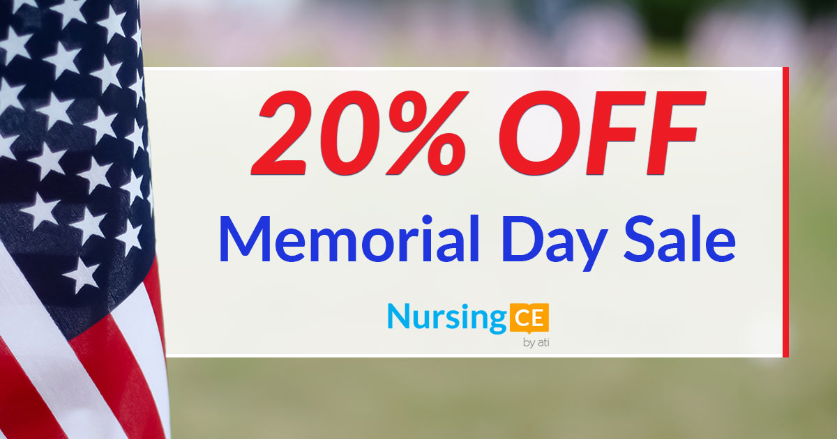 Save%2020%20off%20your%20nursing%20ceus%20with%20our%20memorial%20day%20sale