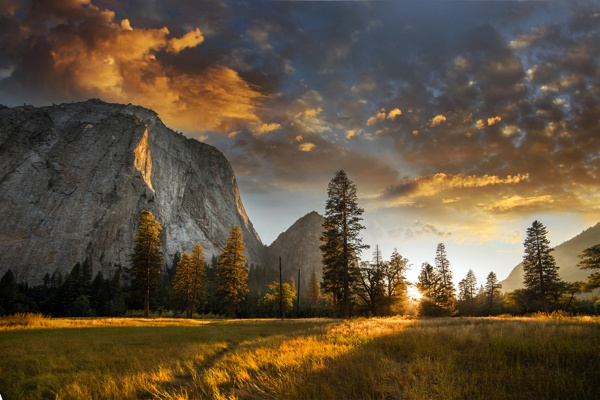 Yosemite sunset: One of the images that inspired me