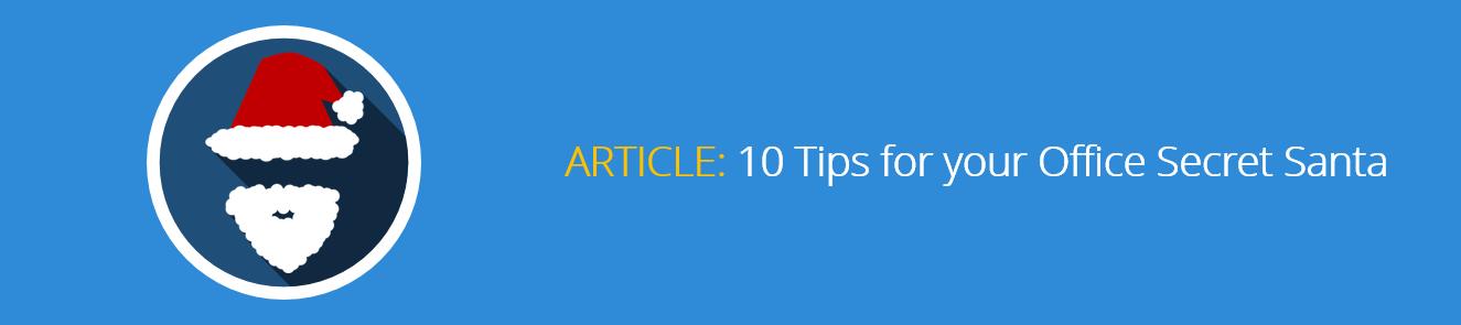 10 Tips for your Office Secret Santa