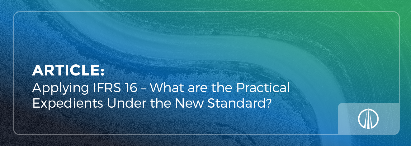Applying IFRS 16 – What are the practical expedients under the new standard