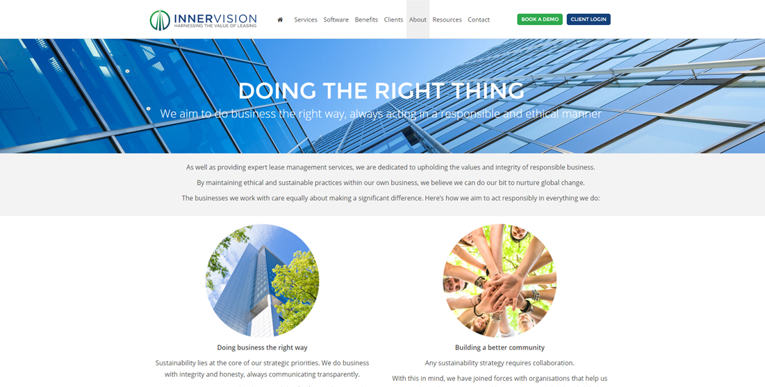 Innervision Corporate Social Responsibility