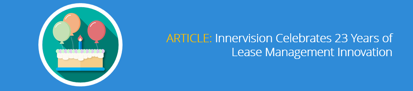 Innervision Celebrates 23 Years of Lease Management Innovation