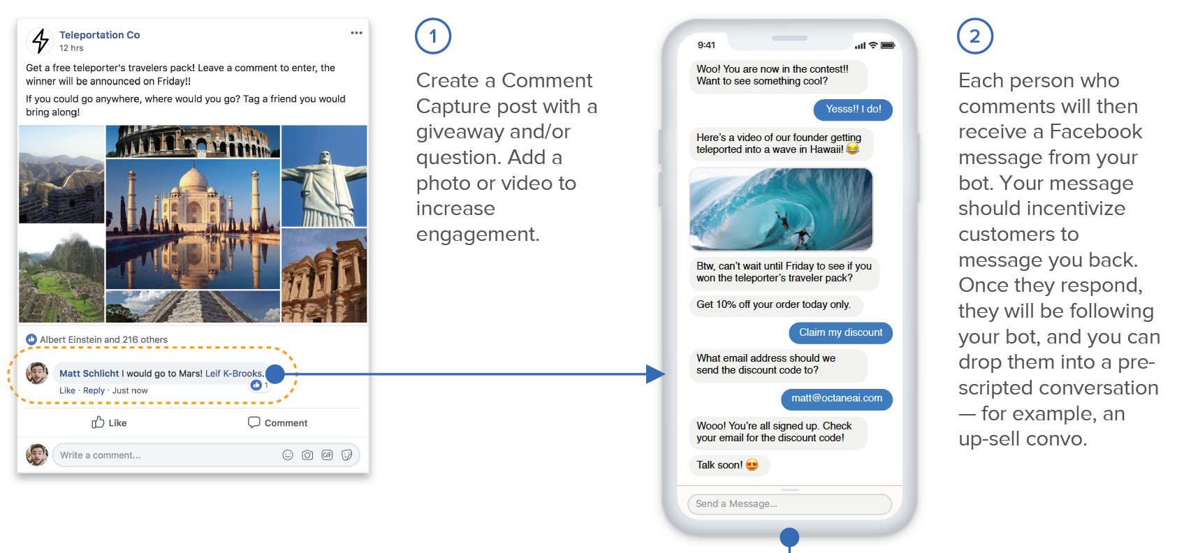 Use Comment Capture To Increase Facebook Messenger Subscribers