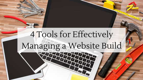 4 Tools for Effectively Managing a Website Build Charlotte, NC
