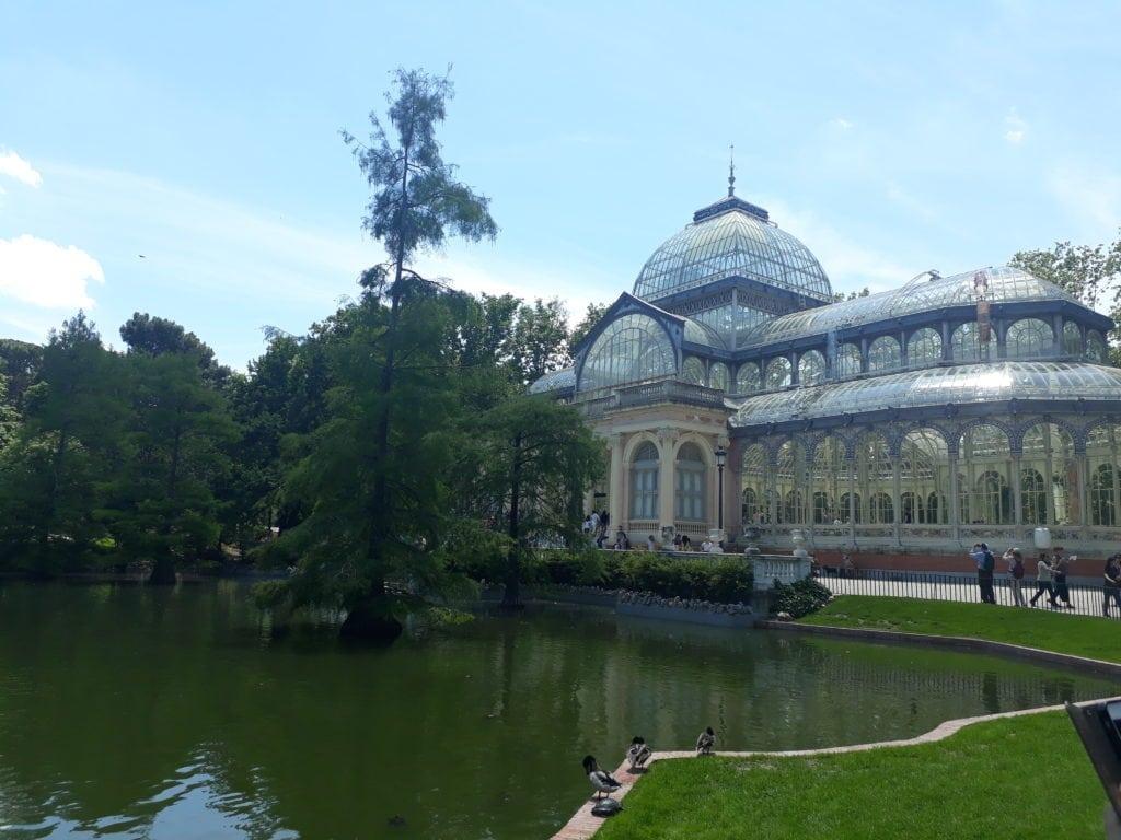 Palacio de Cristal in Madrid (the Glass Palace)