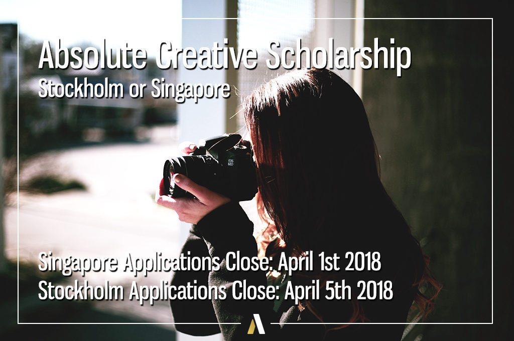 Absolute Internship Creative Scholarship