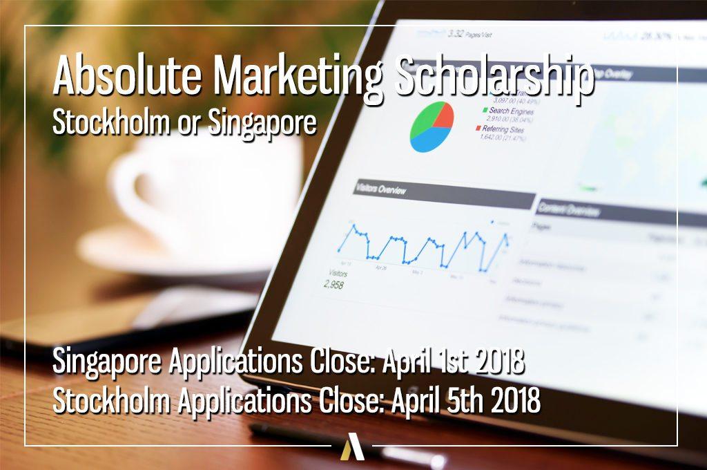 Absolute Internship Marketing Scholarship