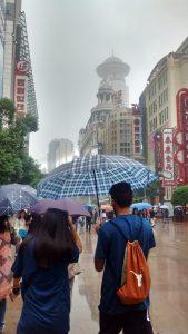 streets in shanghai