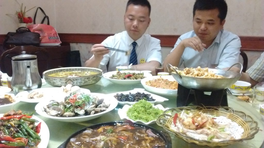 lunch shanghai