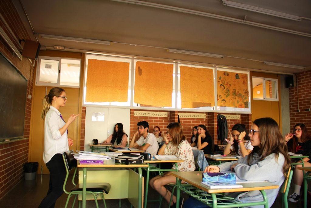 student teacher in barcelona