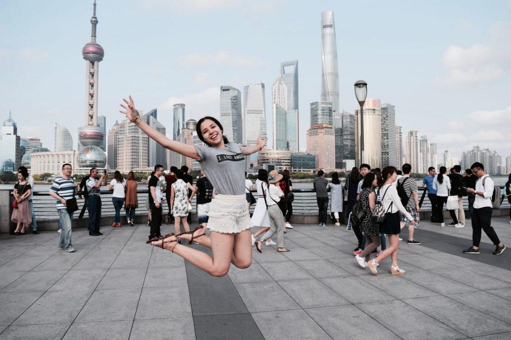 arrive in shanghai