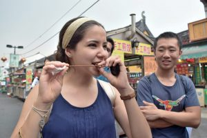Traveling in shanghai