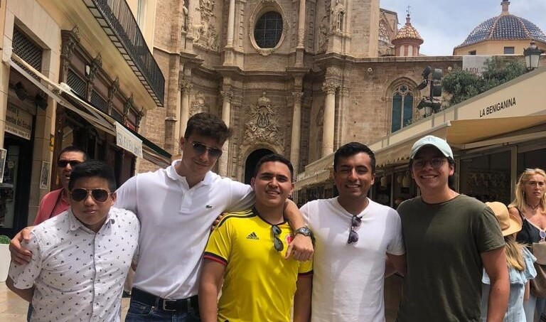 Alejandro and the absolute tribe on a weekend trip in Spain