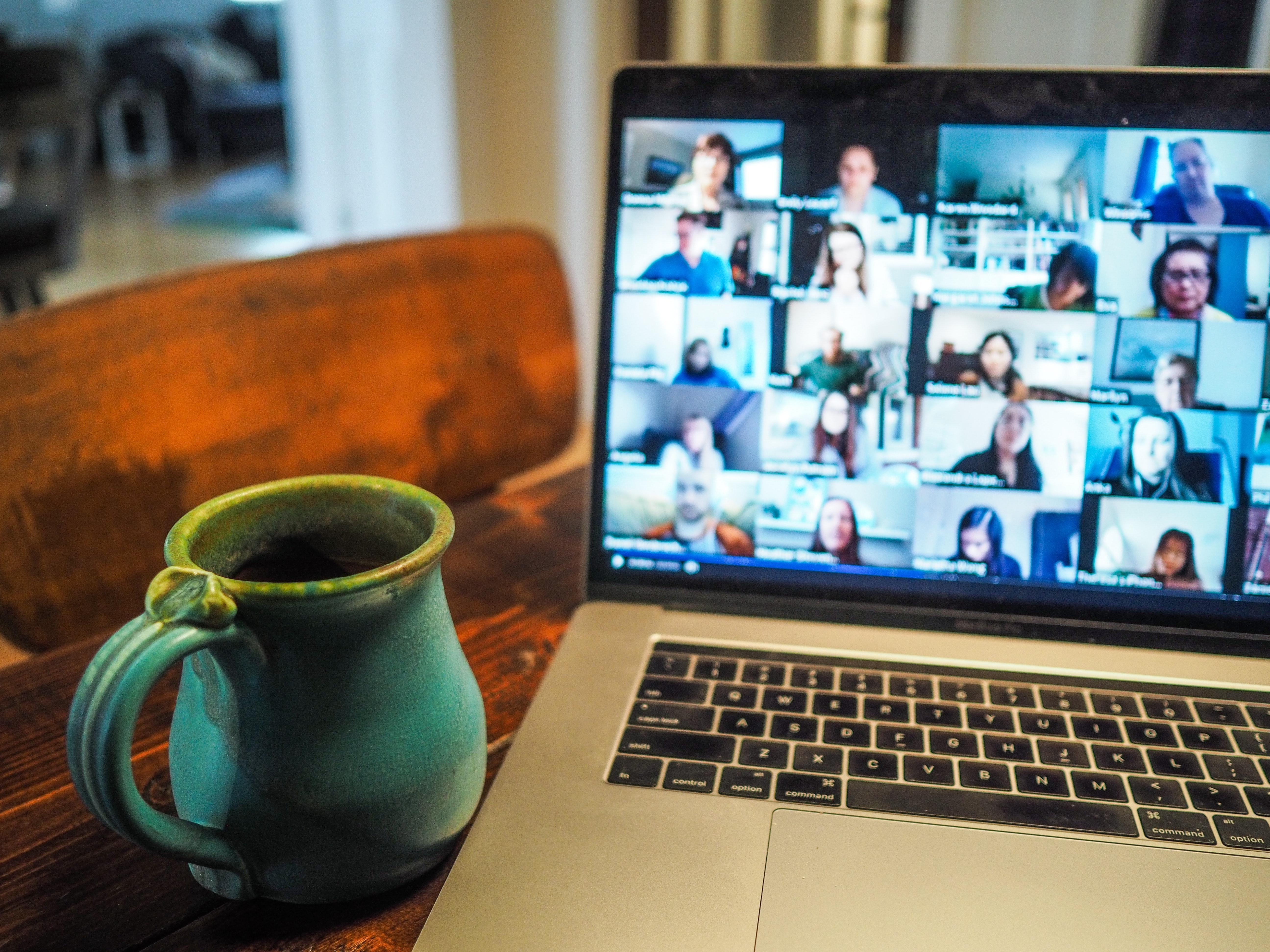 Team video meeting