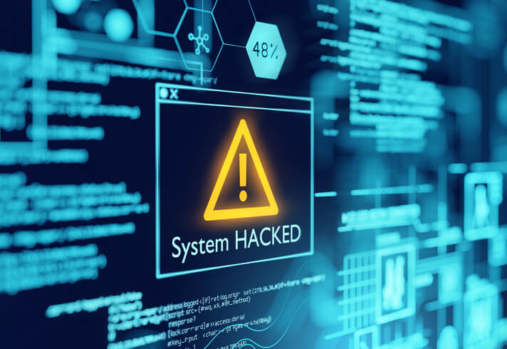 Computer Network System Hacked