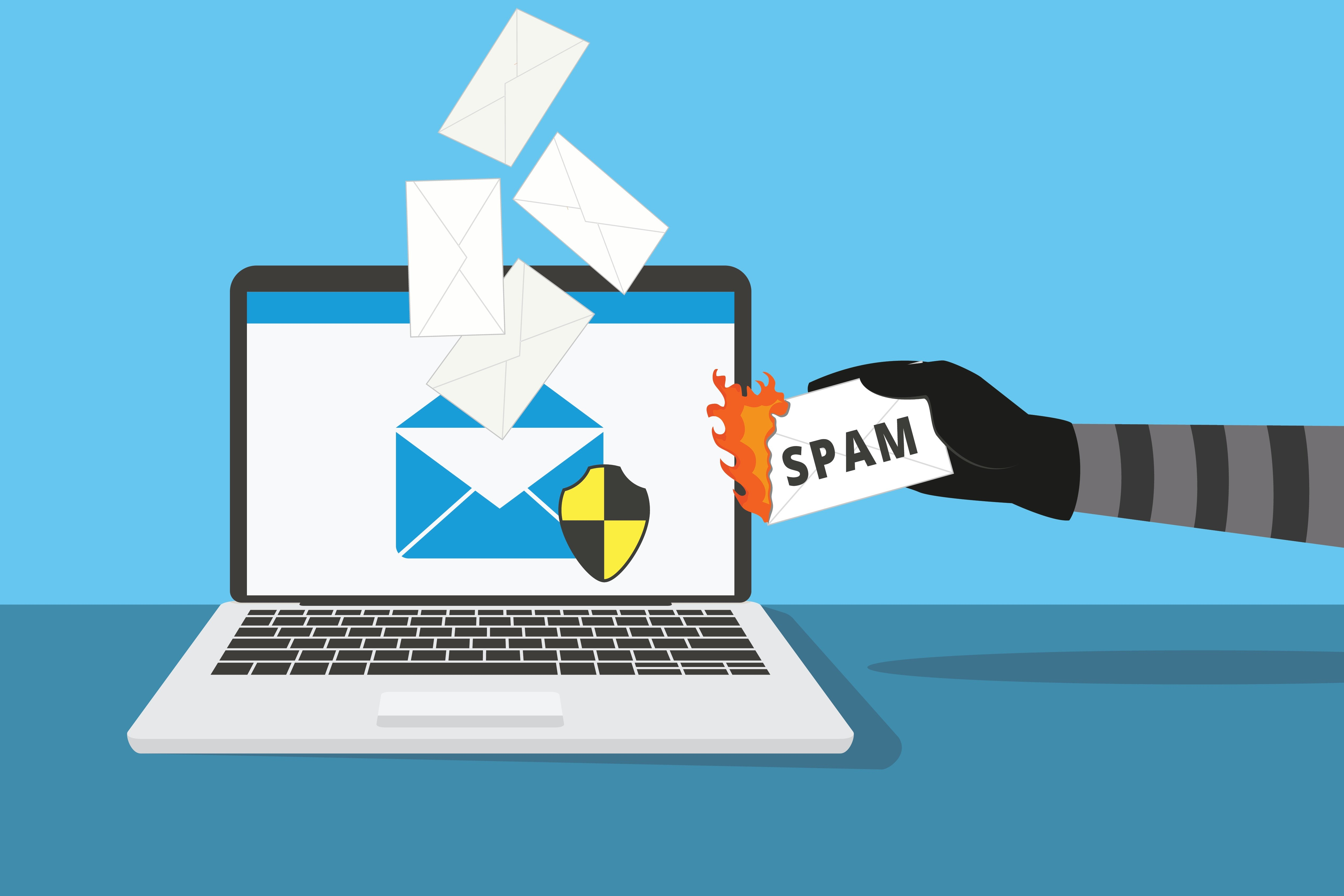 how to block spam emails