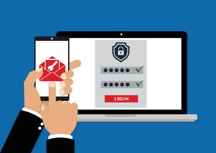 data loss prevention two factor authentication