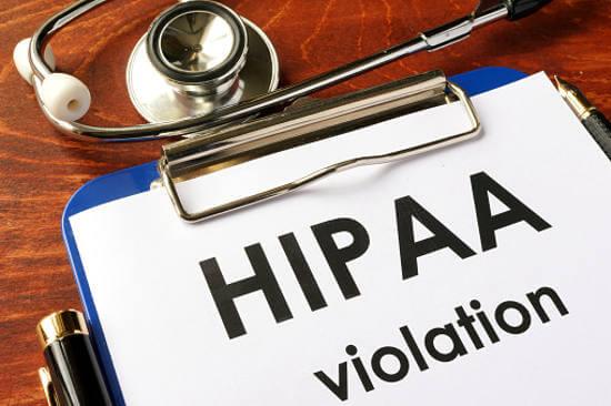 hipaa compliance violation