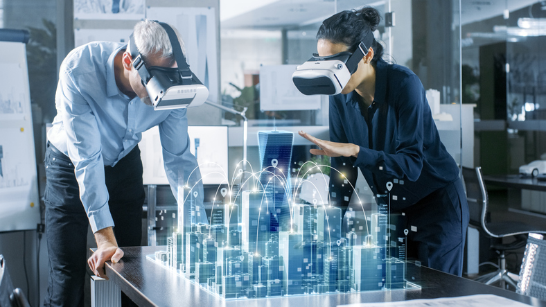 smart office augmented virtual reality
