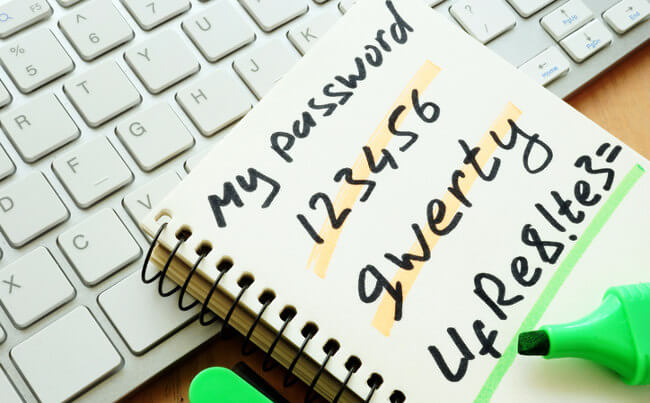 strong password tips