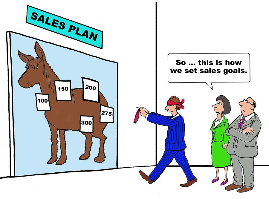 Setting Sales Goals Comic