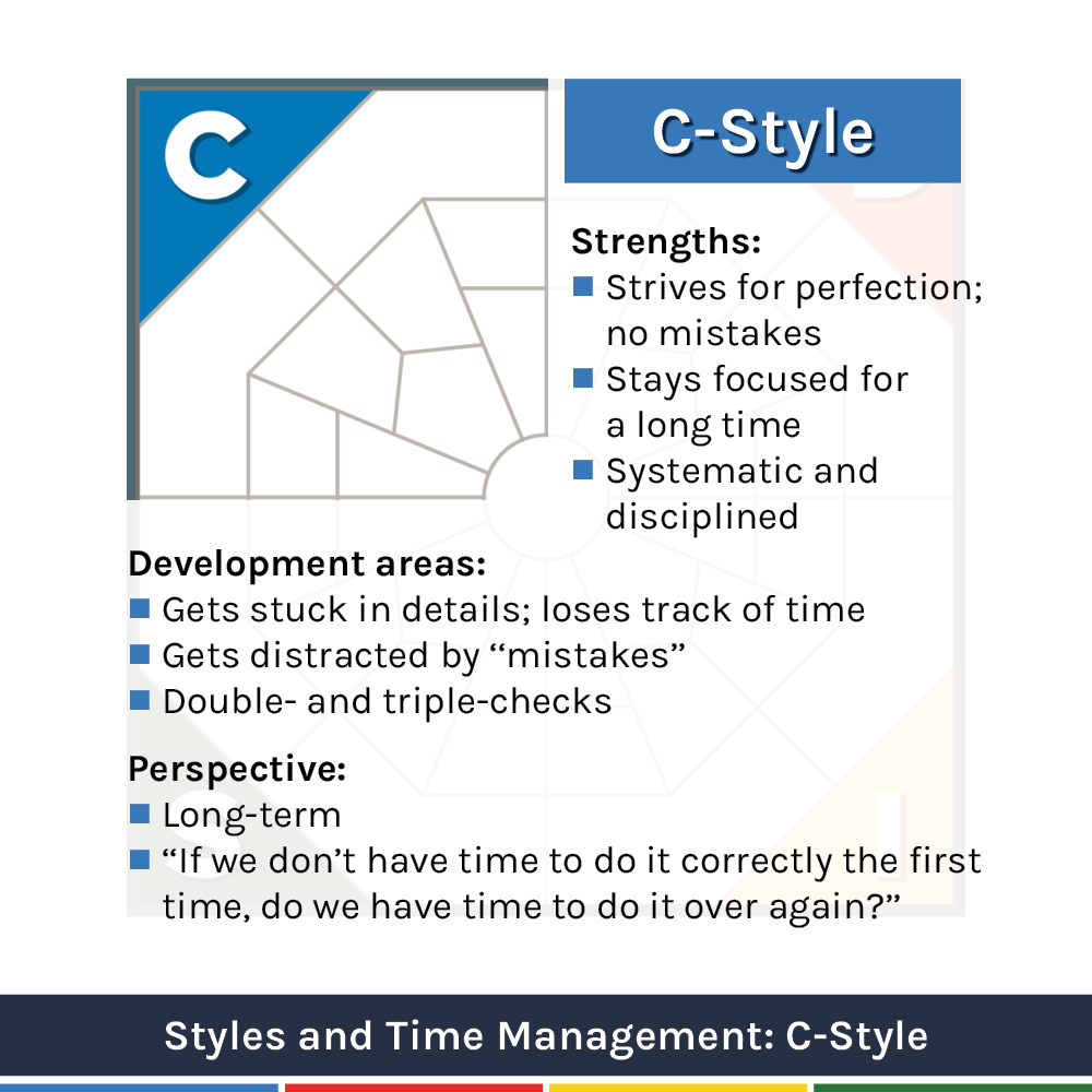 Extended DISC Time Management and C-style