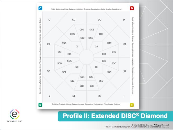 Extended DISC® Diamond