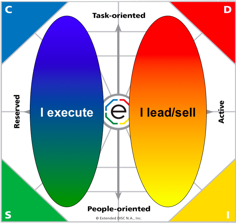 Extended DISC Diamond I Sell - I Execute