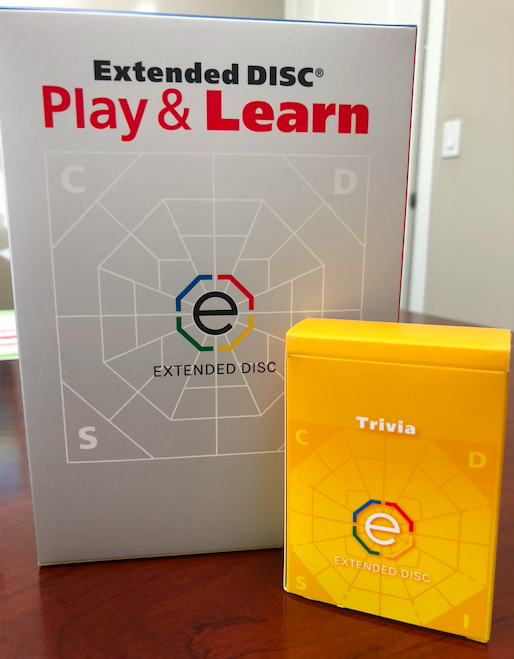 Extended DISC Play & Learn Game Trivia Deck