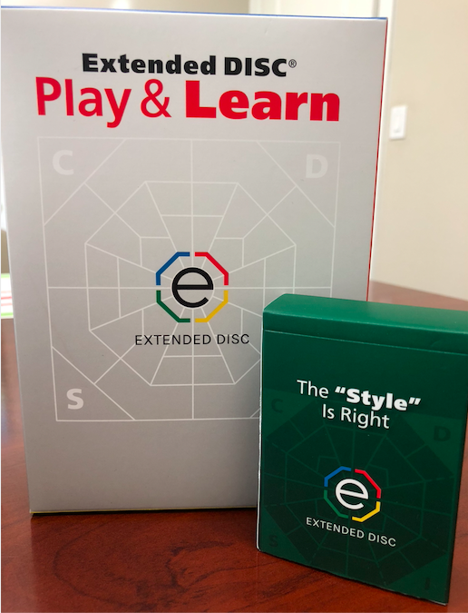 "Extended DISC Play & Learn Game The ""Style"" is Right Deck"
