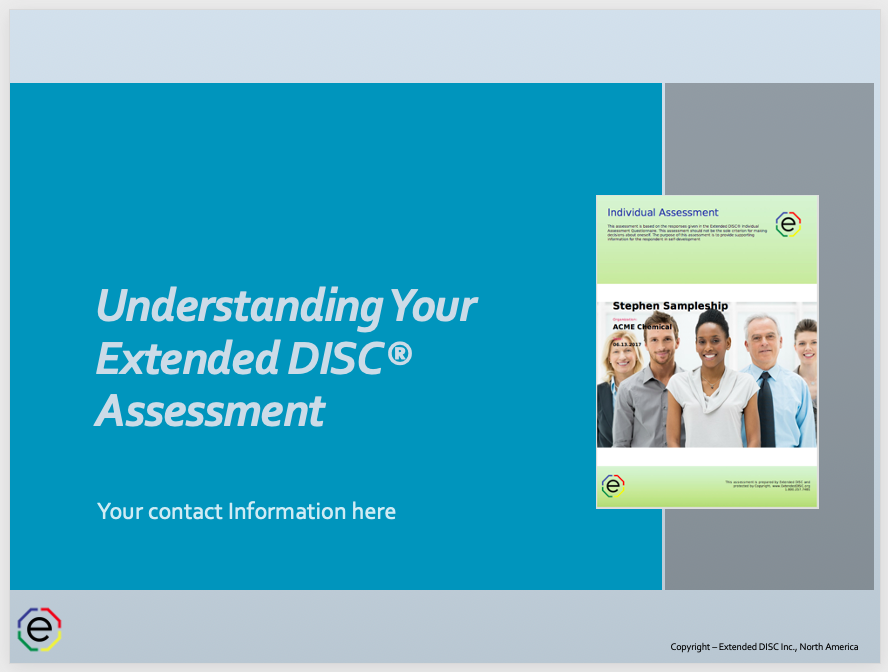 Understanding Your Extended DISC Assessment