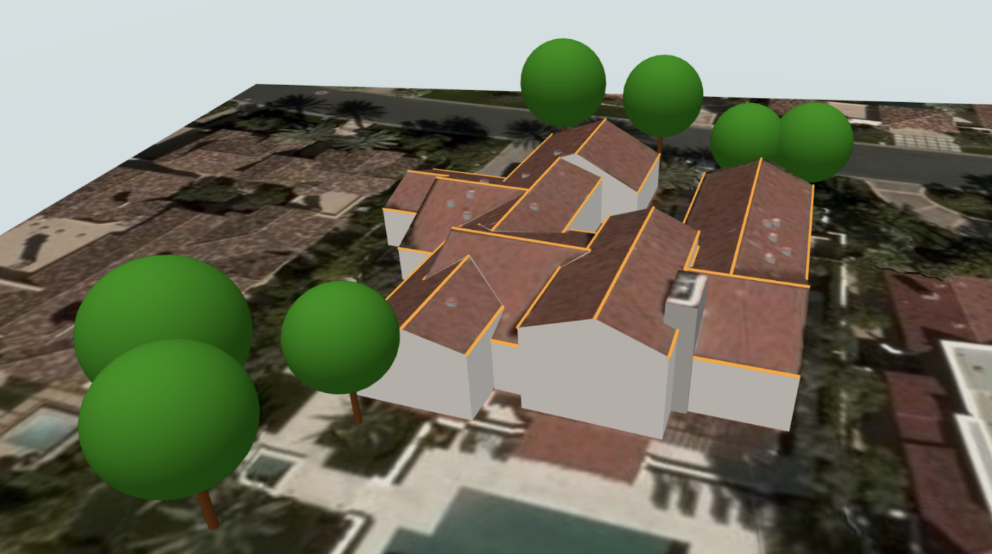 example of a 3D site model