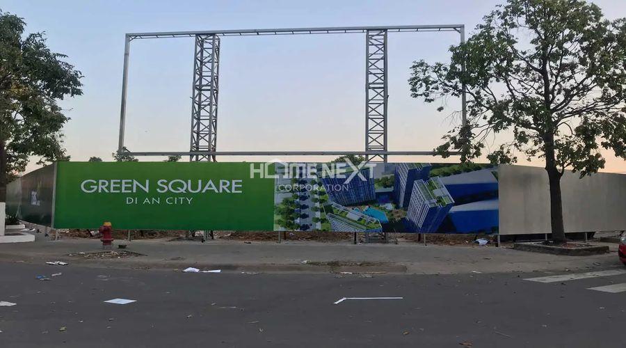 Tiến độ dự án Green Square Dĩ An City