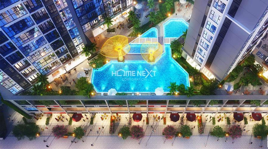Tiện ích nội khu dự án căn hộ Green Square Dĩ An