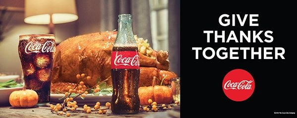 Give Thanks Together, Coca-Cola