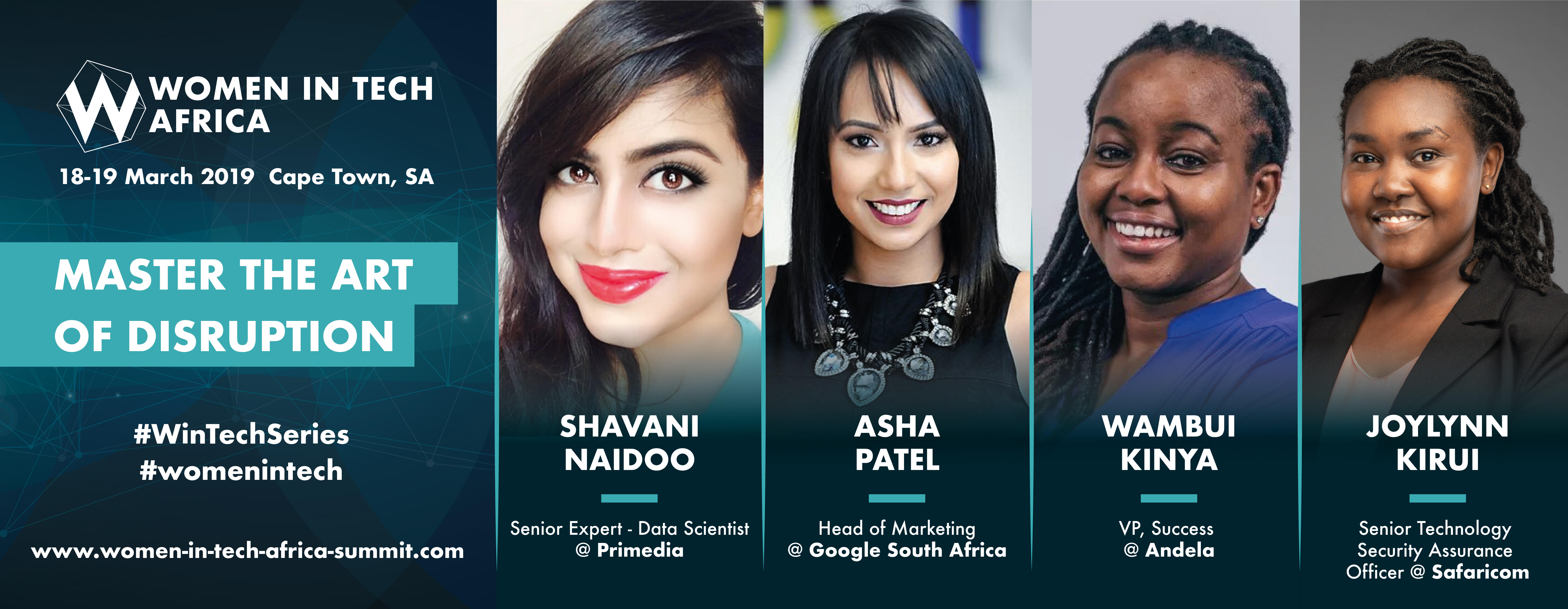 Women in Tech Africa 2019: 4 sessions and what you'll learn